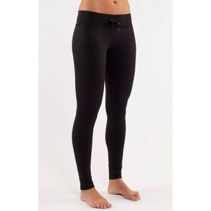 LULULEMON Women's Black 'Will Pant' Leggings 2